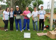 Ação voluntária revitaliza área externa do Programa Viver