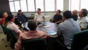 SDS recepciona lideranças de Balneário Gaivota