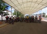 Ciclistas fazem reconhecimento de percurso do Marathon
