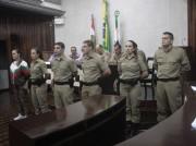 Novos Policiais Militares são apresentados em Morro da Fumaça