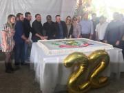 Corte de bolo e premiação encerram festa de aniversário de Treviso