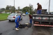 ADR avalia estragos com a chuva e realiza ações emergenciais