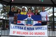 Atleta de Nova Veneza conquista 5º lugar em Campeonato
