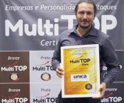Única Comunicação conquista prêmio Multi Top Ouro