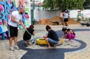 Escola municipal Linus João Rech recebe mutirão de limpeza