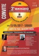 Benedet promove 3º Seminário de Planejamento Estratégico para Gestão Municipal