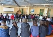 Roda de diálogo pela educação sem violência em Siderópolis
