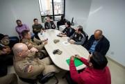 Reunião define medidas para garantir a segurança na região da UFSC