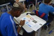 Alunos participam da primeira etapa do Prêmio ACIC de Matemática