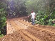 Prefeitura de Jacinto constrói nova ponte sobre o Rio Cará