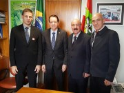 Mota acompanha prefeitos eleitos em viagem a Brasília