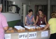 Carnês de IPTU deverão ser retirados dia 13 de março