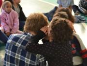 Crianças do Bairro da Juventude aprendem sobre saúde na Unesc