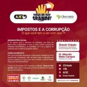 Feirão do Imposto traz debate sobre carga tributária e combate à corrupção