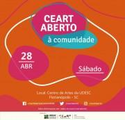 Projeto Ceart Aberto à Comunidade ocorre neste sábado