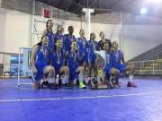 Basquete feminino de Criciúma conquista o título estadual Sub-17