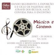Trilhas sonoras e curta metragem no Cultura ACIC
