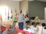 Reitor da Unesc faz palestra para mais de 700 professores