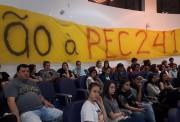 Câmara encaminha Moção de Repúdio contra PEC 241