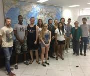 Alunos estrangeiros desembarcam para estudar na Unisul