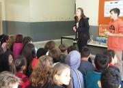 Alunos de escola de Criciúma aprendem sobre coleta seletiva