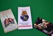 No Dia Mundial Sem Tabaco comunidade recebe orientações