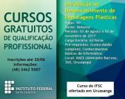Inscrições para curso do IFSC em Urussanga continuam abertas