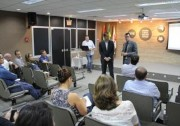 Vice-presidente do TCE/SC participa de apresentação