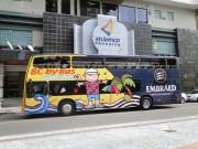 BC By Bus já está circulando novamente pela região