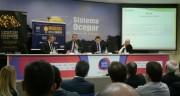 Colombo fala a empresários durante fórum em Curitiba