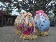 Nova Veneza decorada para o evento Dolce Páscoa