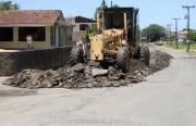 Obras de revitalização asfáltica iniciam no bairro Metropol