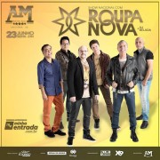 Banda Roupa Nova fará show em Criciúma dia 23/6