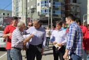 Peemedebistas de Siderópolis e Orleans recebem apoio