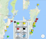 Corpo de Bombeiros lança aplicativo que ajuda a encontrar praia mais segura