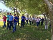 Padres e religiosos celebram Via Sacra durante encontro