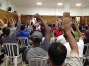 Metalúrgicos do Sindimetal de Criciúma rejeitam 7% de aumento