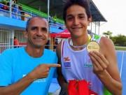 SC conquista ouro e bate recorde no atletismo dos Jogos