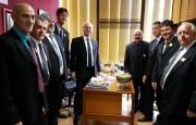Mota e prefeitos eleitos fazem avaliação de viagem à Brasília