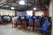 Colaboradores participam de palestra sobre saúde