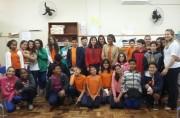 Alunos de Criciúma participam de um dia de uma aula diferenciada