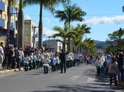 Siderópolis dedica a manhã de sábado para reverenciar a Pátria