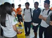 Estudantes conhecem carreiras e inovações da indústria