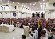 Celebração final de inauguração do Santuário reúne multidão