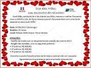 AFAVE e CDL de Nova Veneza realizam evento de Dia das Mães