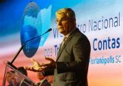 Eduardo Moreira prestigia VI Encontro Nacional dos Tribunais de Contas e agradece devolução de recursos pelo TCE-SC