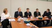 Projeto alemão que automatiza produção de leite chama atenção dos catarinenses em missão oficial