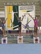 Criciumense Tainá é campeã brasileira de ginástica artística