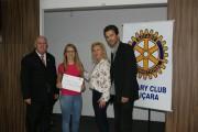 Câmara concede homenagem ao Rotary Club de Içara