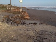 Defesa Civil registra estragos provocados por ciclone no mar